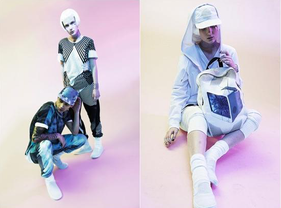 可根据紫外线改变图案的智能服装亮相-广州磐众智能科技有限公司
