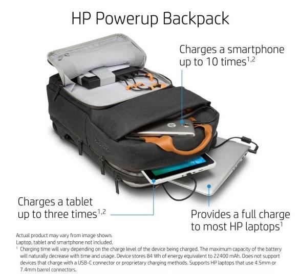 商务旅行神器:惠普可充电背包-广州磐众智能科技有限公司