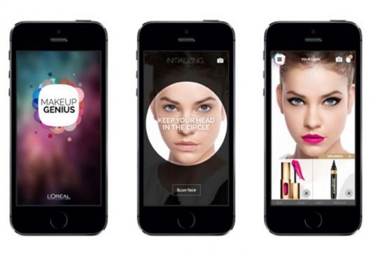 """""""互动镜子""""为你打造虚拟化妆-广州磐众智能科技有限公司"""