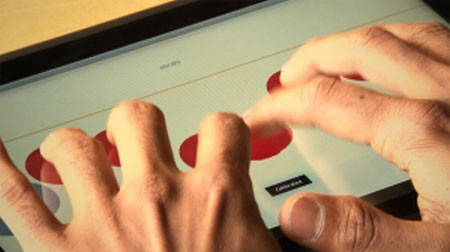 帮助盲人使用电脑的新技术--触摸屏一体机-广州磐众智能科技有限公司