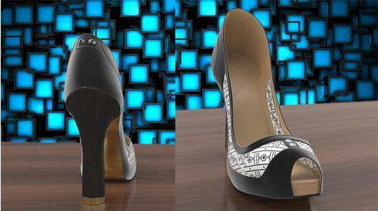 智能高跟鞋:内置水墨屏幕可随意改变鞋身图案-广州磐众智能科技有限公司