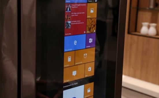 Windows10版本的科幻型触控冰箱-广州磐众智能科技有限公司