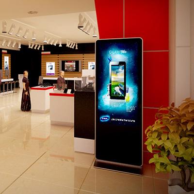 使用液晶广告机的好处-广州磐众智能科技有限公司