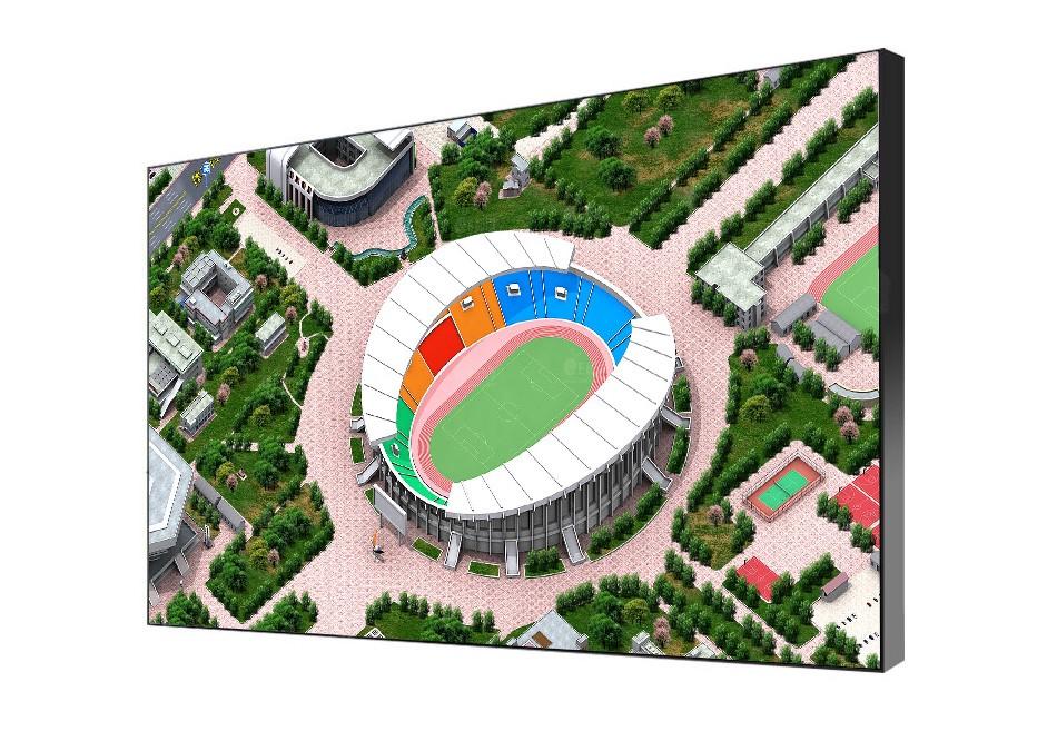 46寸液晶拼接屏PZ-46DID-35-3×4--广州磐众智能科技有限公司