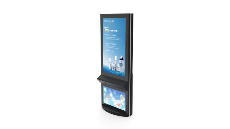 70寸触摸一体机+42寸广告机--广州磐众智能科技有限公司