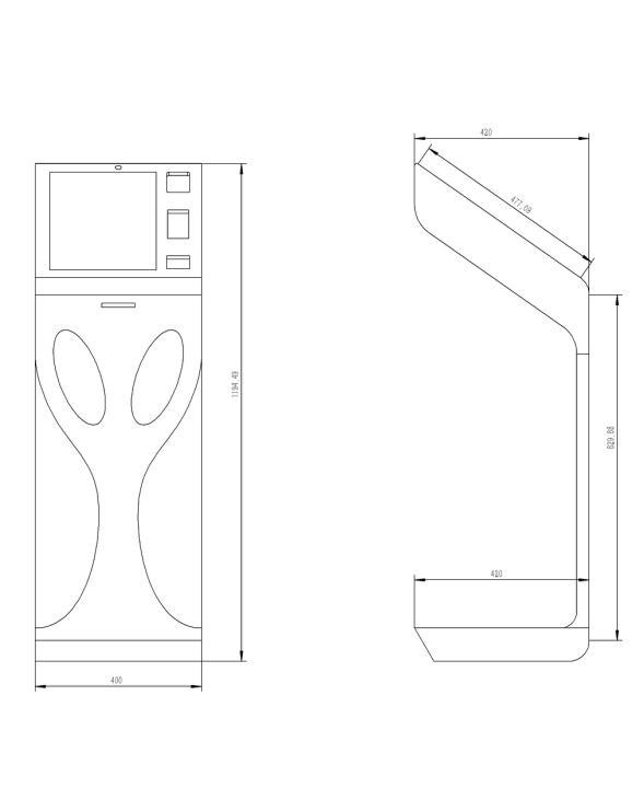 立式触摸门禁系统/PZ-22BHP--广州磐众智能科技有限公司