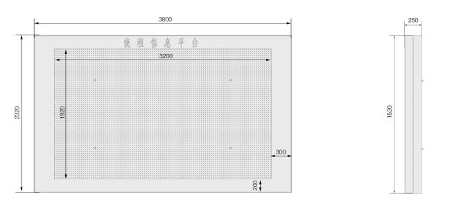 C户外P5全彩3.2米X1.92米壁挂--广州磐众智能科技有限公司