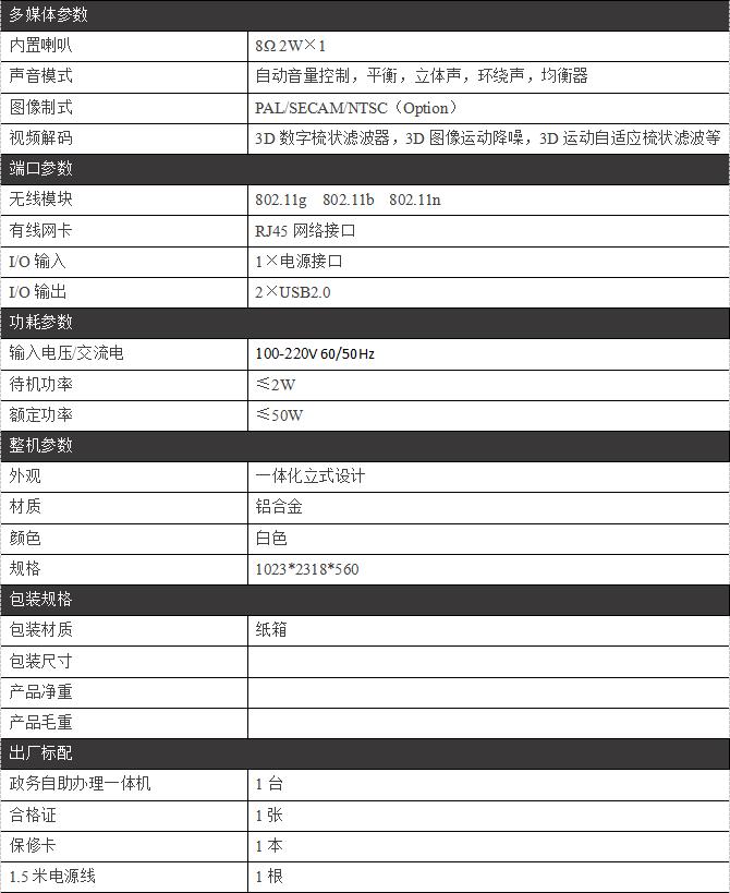 政务自助办理一体机/PZ-22WDHT-A--广州磐众智能科技有限公司